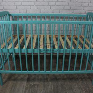 ŁÓŻECZKO KACPER MIĘTOWE 120x60 cm