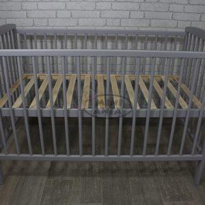 ŁÓŻECZKO KACPER SZARE 120x60 cm