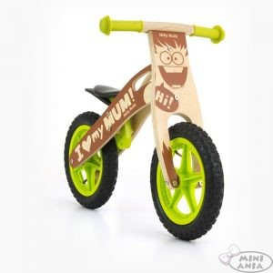 Rowerki biegowe drewniane
