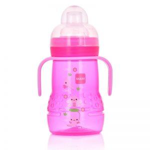 Butelka dla niemowląt MAM BABY Trainer 220 ml 4+miesięcy